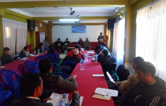 Pre-planning Meeting CompletedFor Fiscal Year 2074/075 Held On Dec,09,2016